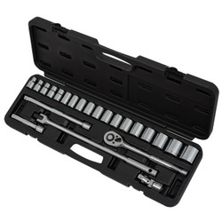 "ITC 020134 - (ISK-1224M) 24 PC 1/2"" Drive Metric Socket Set"