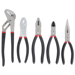 ITC 020604 - (IPL-5S) 5 PC Cushion Grip Pliers Set
