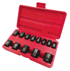 "ITC 020723 - (IPS-1312) 1/2"" Drive 13PC SAE Impact Socket Set"