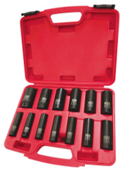"ITC 020728 - (IPS-1312D) 1/2"" Drive 13PC Deep SAE Impact Socket Set"