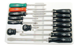 ITC 020911 - (ISD-14) 14 PC ABS Handle Screwdriver Set