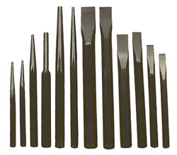ITC 023505 - (IPC-12) 12 PC Jumbo Punch and Chisel Set