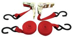 "ITC 027115 - (RTD-1152) 1"" x 15' 1,500 lb Ratchet Tie Down Set"