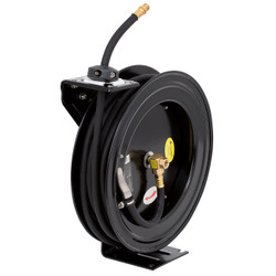 "ITC 028272 - (I3850AS) 3/8"" x 50' Retractable Air Hose Reel - Metal"