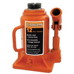 Strongarm 030107 - (314A) 12 Ton Bottle Jack - Heavy Duty