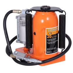 Strongarm 030159 - (390SHD) 20 Ton Air/Hydraulic Bottle Jack - Super Heavy Duty
