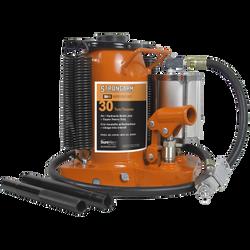 Strongarm 030162 - (395SHD) 30 Ton Air/Hydraulic Bottle Jack - Super Heavy Duty