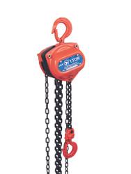 Jet 101412 - (L95-1002) 1 Ton 10' Lift Chain Hoist - Super Heavy Duty (Overload Protection)