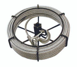 Jet 111153 - (JG-150/SGP-150A) 1-1/2 Ton 66' Cable Assembly For JET/SUMO® Wire Grip Pullers