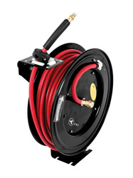 "Jet 391723 - (A3850) 3/8"" x 50' Retractable Air Hose Reel"