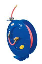 "Jet 391726 - (AW1250) 1/2"" x 50' Retractable Air/Water Hose Reel - Heavy Duty"