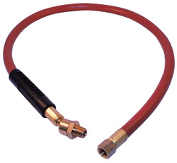 """Jet 408172 - (AW383SW) 3/8"""" x 3' Air Hose Whip With Swivel"""