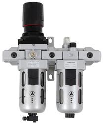 "Jet 408804 - (AFRLCS12) 2 PC Air Filter, Regulator and Lubricator 1/2"" NPT - Standard"