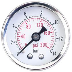 """Jet 408814 - (RPGH14) Pressure Gauge - 1/4"""" NPT Heavy Duty"""