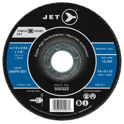 Jet 500322 - 4-1/2 x 3/64 x 7/8 A60PX-SST POWER-XTREME SST T27 Cut-Off Wheel