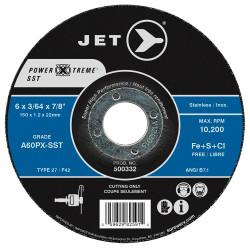 Jet 500332 - 6 x 3/64 x 7/8 A60PX-SST POWER-XTREME SST T27 Cut-Off Wheel