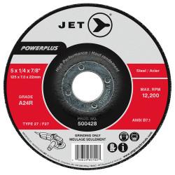 Jet 500438 - 7 x 1/4 x 7/8 A24R POWERPLUS T27 Grinding Wheel