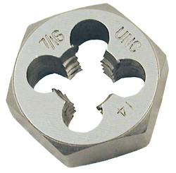 "Jet 530728 - 7/16""-14 NC Alloy Steel S.A.E. Hex Dies (1"" Hex)"