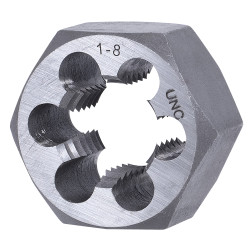 "Jet 530740 - 1""-8 NC Alloy Steel S.A.E. Hex Dies (1-13/16"" Hex)"