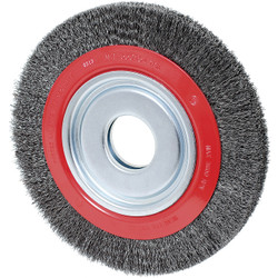 Jet 550124 - (101F-3C) 6 x 1 Crimped Wire Wheel