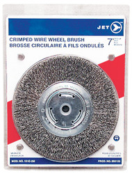Jet 550133 - (101C-3M) 7 x 1-1/4 Crimped Wire Wheel