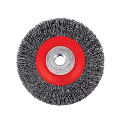 Jet 553015 - (45C14T) 4-1/2 x 5/8-11NC Crimped Wire Brush - High Performance