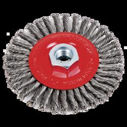 Jet 553484 - 4 x 1/4 x 5/8-11NC Stringer Bead Brush - High Performance