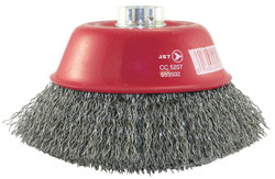 Jet 553502 - (CC520T) 5 x 5/8-11 NC Crimped Wire Cup Brush