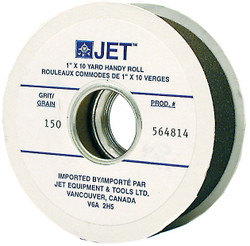 "Jet 564815 - 1"" x 10 Yards A180 Abrasive Cloth Roll"