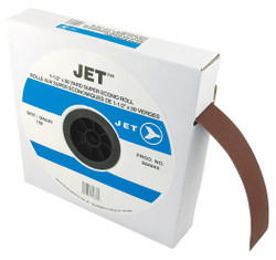 Jet 564845 - 1-1/2 x 50 Yard A180 Abrasive Cloth Roll - General Purpose