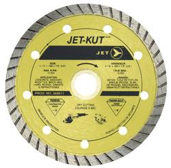 Jet 568611 - (DDT-4.5) 4-1/2 x .095 x 7/8 (5/8) JET-KUT Premium Turbo Diamond Blade