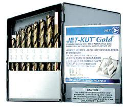 Jet 570141 - (GF–21R) 21 PC JET-KUT GOLD Super Premium Drill Bit Set