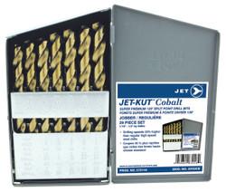 Jet 570144 - (GF29CB) 29 PC JET-KUT COBALT Super Premium Drill Bit Set