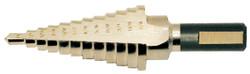 """Jet 579202 - 1/8"""" - 1/2"""" x 13 Step JET-KUT Super Premium M35 H.S.S. Step Drills"""