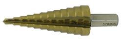 """Jet 579206 - 3/16"""" - 7/8"""" x 12 Step JET-KUT Super Premium M35 H.S.S. Step Drills"""