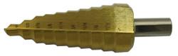 """Jet 579212 - 1/4"""" - 1"""" x 10 Step JET-KUT Super Premium M35 H.S.S. Step Drills"""