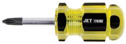 """Jet 720382 - (SDP-2S) #2 x 1-1/2"""" Phillips Jumbo Handle Screwdriver"""