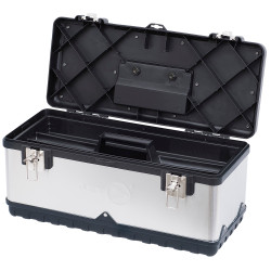 "Jet 842153 - (JPSTB-20) 20"" Stainless Steel Hand Tool Box"