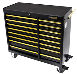 "Jet 842614 - (RC4116-BG) 41"" x 18"" 16 Drawer B&G Series Roller Cabinet"
