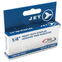"Jet 849491 - (JS-1006HD) 1/4"" Staples (1000 Pcs) - Heavy Duty"
