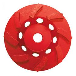 Pearl PV05CSEH - 5 X 5/8-11 9 Seg Swirl Pro V Cup Wheel