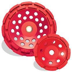 Pearl PV07CDH - 7 X 5/8-11 P2 Pro-V Concrete & Masonry Cup Wheel, Double Row
