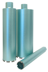 Pearl HB0212PT - 2-1/2 X 14 X 1-1/4 X 7 P4 Turbo/Pointed Seg. Concrete Wet Core Bit