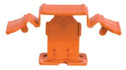 "Pearl TSC150116O - Tuscan Truspace Orange Seamclip, Grout Size: 1/16"" (1.59MM) 150/Box 3/8"" - 1/2"" Tiles"