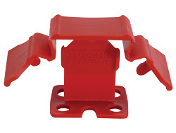 """Pearl TSC150R - Tuscan Truspace Red Seamclip, Grout Size: 1/32'' (.80MM) 150/Box 3/8"""" - 1/2"""" Tiles"""