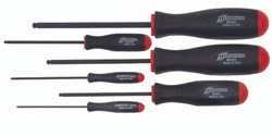 Bondhus 10686 - 6 Piece Ball End Screwdrivers - Sizes: 1.5-5mm