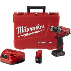 "Milwaukee 2504-22 - M12 FUEL™ 1/2"" Hammer Drill Kit"