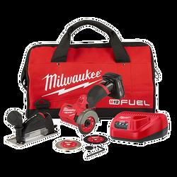 "Milwaukee 2522-21XC - M12 FUEL™ 3"" Compact Cut Off Tool - Kit"