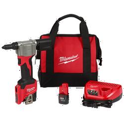 Milwaukee 2550-22 - M12 Rivet Tool Kit