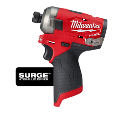 "Milwaukee 2551-20 - M12 FUEL™ SURGE™ 1/4"" Hex Hydraulic Driver Bare Tool"